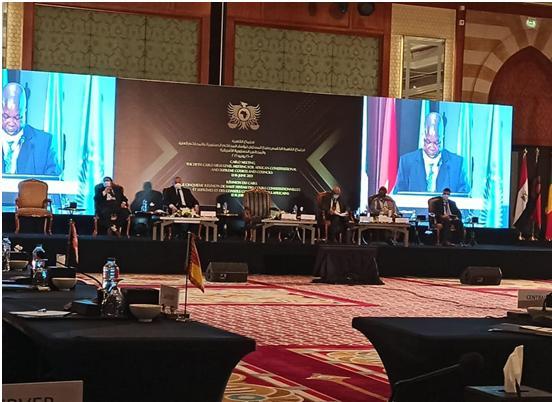 مشاركة المحكمة العليا في اجتماع القاهرة الخامس رفيع المستوى لرؤساء المحاكم الدستورية والمحاكم العليا والمجالس الدستورية الإفريقية.