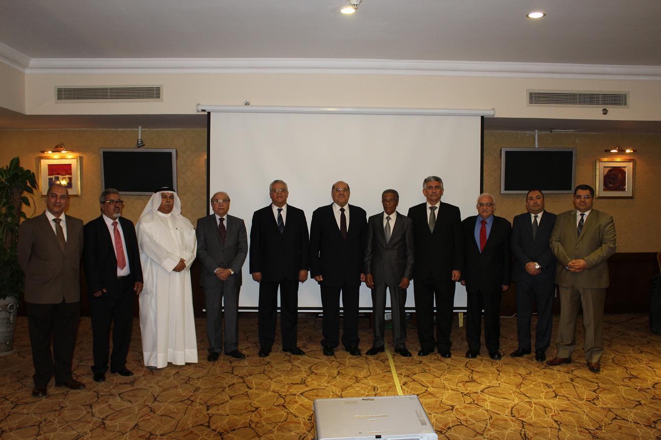 مشاركة المحكمة العليا في الاجتماع الرابع عشر للجنة العلمية لاتحاد المحاكم والمجالس الدستورية العربية .